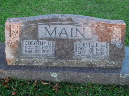 MAIN, DOROTHY C. - Boone County, Arkansas | DOROTHY C. MAIN - Arkansas Gravestone Photos