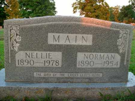 MAIN, NORMAN - Boone County, Arkansas | NORMAN MAIN - Arkansas Gravestone Photos