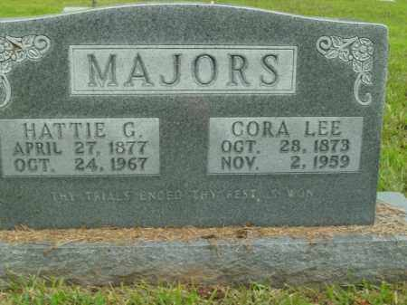 MAJORS, CORA LEE - Boone County, Arkansas | CORA LEE MAJORS - Arkansas Gravestone Photos