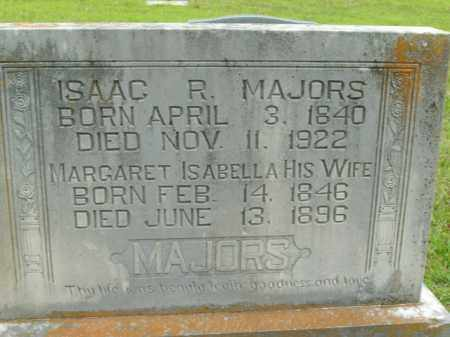 MAJORS, MARGARET ISABELLA - Boone County, Arkansas | MARGARET ISABELLA MAJORS - Arkansas Gravestone Photos