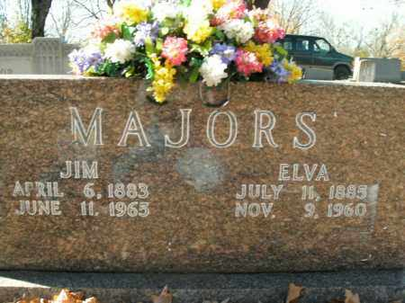 MAJORS, JIM - Boone County, Arkansas | JIM MAJORS - Arkansas Gravestone Photos