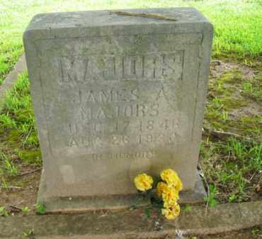 MAJORS, JAMES A. - Boone County, Arkansas | JAMES A. MAJORS - Arkansas Gravestone Photos