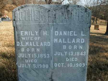 MALLARD, EMILY H. - Boone County, Arkansas | EMILY H. MALLARD - Arkansas Gravestone Photos