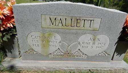 MALLETT, JOE  N. - Boone County, Arkansas | JOE  N. MALLETT - Arkansas Gravestone Photos