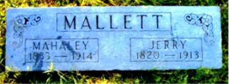 MALLETT, JERRY - Boone County, Arkansas | JERRY MALLETT - Arkansas Gravestone Photos