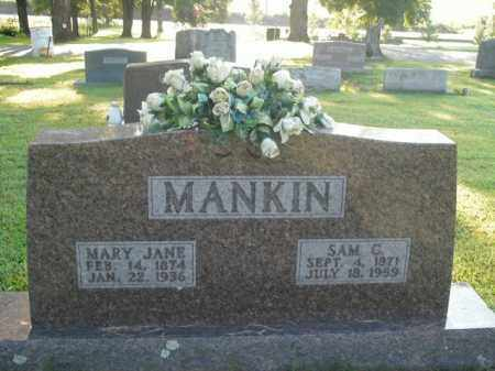 MANKIN, SAM C. - Boone County, Arkansas | SAM C. MANKIN - Arkansas Gravestone Photos