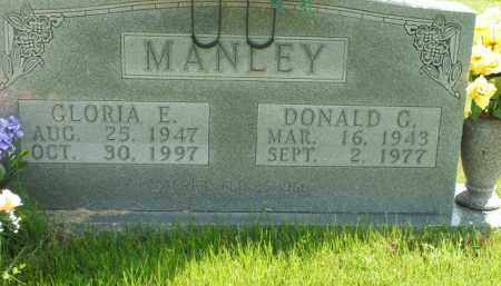 MANLEY, DONALD C. - Boone County, Arkansas | DONALD C. MANLEY - Arkansas Gravestone Photos