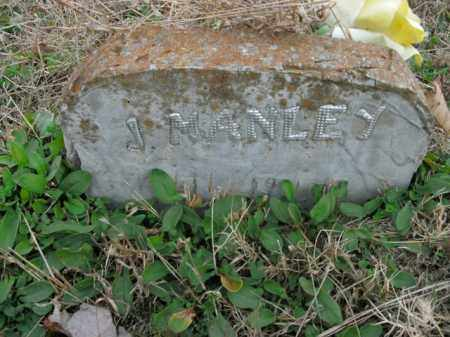 MANLEY, J. - Boone County, Arkansas | J. MANLEY - Arkansas Gravestone Photos
