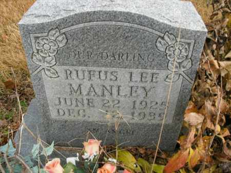 MANLEY, RUFUS LEE - Boone County, Arkansas | RUFUS LEE MANLEY - Arkansas Gravestone Photos