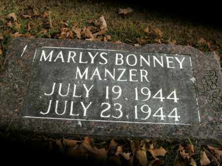 MANZER, MARLYS BONNEY - Boone County, Arkansas | MARLYS BONNEY MANZER - Arkansas Gravestone Photos