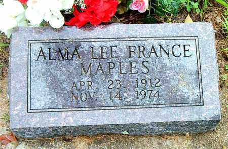 MAPLES, ALMA LEE - Boone County, Arkansas | ALMA LEE MAPLES - Arkansas Gravestone Photos