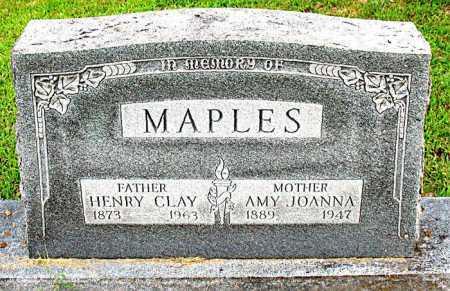 MAPLES, HENRY CLAY - Boone County, Arkansas | HENRY CLAY MAPLES - Arkansas Gravestone Photos