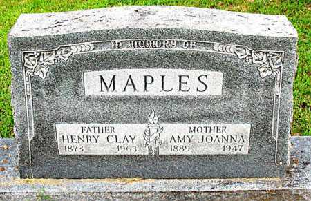 MAPLES, HENRY CLAY - Boone County, Arkansas | HENRY CLAY MAPLES - Arkansas Gravestone Photos
