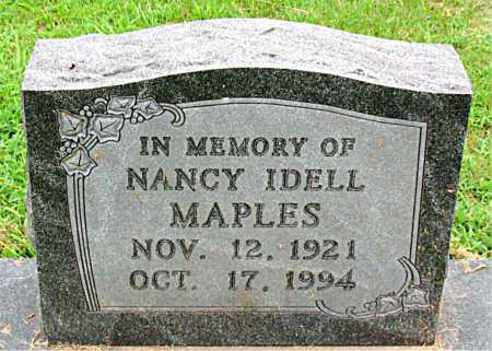 MAPLES, NANCY IDELL - Boone County, Arkansas | NANCY IDELL MAPLES - Arkansas Gravestone Photos
