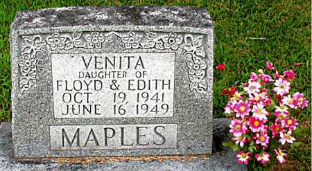 MAPLES, VENITA - Boone County, Arkansas | VENITA MAPLES - Arkansas Gravestone Photos