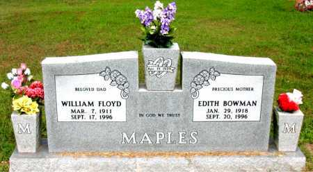 BOWMAN MAPLES, EDITH - Boone County, Arkansas | EDITH BOWMAN MAPLES - Arkansas Gravestone Photos