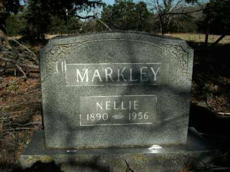 MARKLEY, NELLIE - Boone County, Arkansas   NELLIE MARKLEY - Arkansas Gravestone Photos