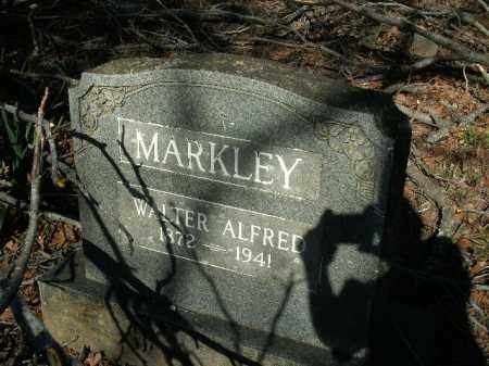 MARKLEY, WALTER ALFRED - Boone County, Arkansas | WALTER ALFRED MARKLEY - Arkansas Gravestone Photos