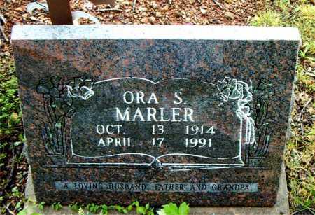 MARLER, ORA   S - Boone County, Arkansas | ORA   S MARLER - Arkansas Gravestone Photos