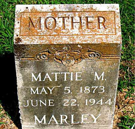 MARLEY, MATTIE M. - Boone County, Arkansas | MATTIE M. MARLEY - Arkansas Gravestone Photos