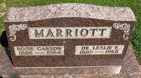MARRIOTT, ROSIE CARSON - Boone County, Arkansas | ROSIE CARSON MARRIOTT - Arkansas Gravestone Photos