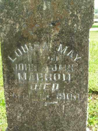 MARROW, LOUISA MAY - Boone County, Arkansas | LOUISA MAY MARROW - Arkansas Gravestone Photos