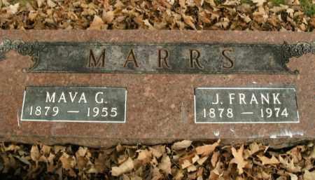 MARRS, J. FRANK - Boone County, Arkansas | J. FRANK MARRS - Arkansas Gravestone Photos