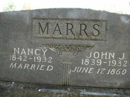 MARRS, JOHN JAMES - Boone County, Arkansas | JOHN JAMES MARRS - Arkansas Gravestone Photos