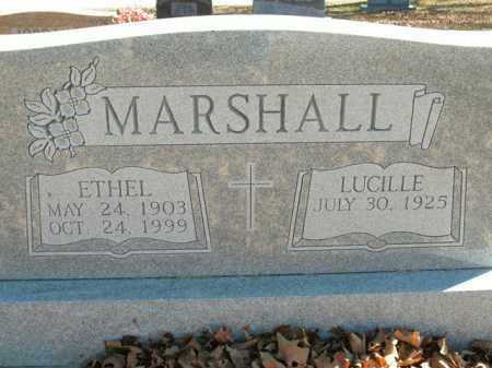 MARSHALL, ETHEL - Boone County, Arkansas | ETHEL MARSHALL - Arkansas Gravestone Photos
