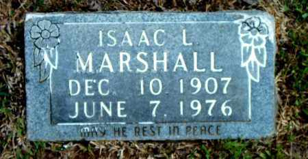 MARSHALL, ISAAC L. - Boone County, Arkansas | ISAAC L. MARSHALL - Arkansas Gravestone Photos