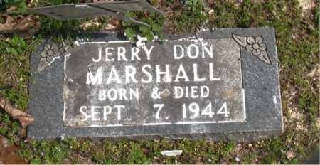 MARSHALL, JERRY DON - Boone County, Arkansas | JERRY DON MARSHALL - Arkansas Gravestone Photos