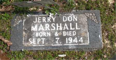 MARSHALL, JERRY DON - Boone County, Arkansas | JERRY DON MARSHALL - Arkansas Gravestone Photos
