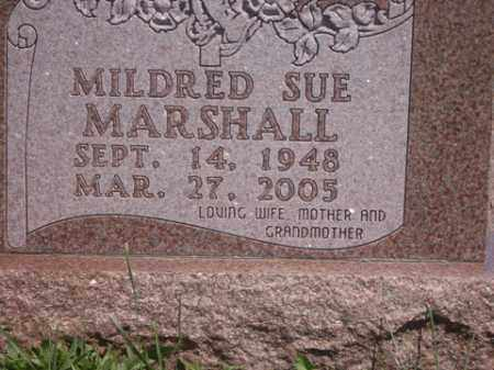 MARSHALL, MILDRED SUE - Boone County, Arkansas | MILDRED SUE MARSHALL - Arkansas Gravestone Photos