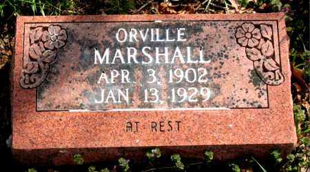 MARSHALL, ORVILLE - Boone County, Arkansas | ORVILLE MARSHALL - Arkansas Gravestone Photos