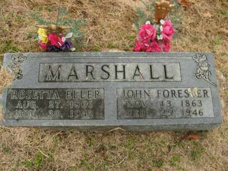 MARSHALL, JOHN FORESTER - Boone County, Arkansas | JOHN FORESTER MARSHALL - Arkansas Gravestone Photos