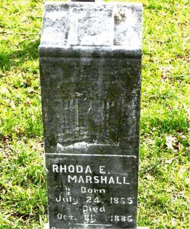 MARSHALL, RHODA E. - Boone County, Arkansas | RHODA E. MARSHALL - Arkansas Gravestone Photos