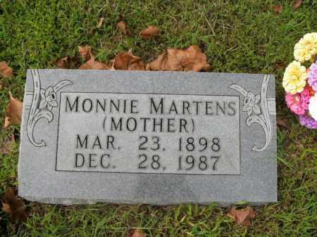 MARTENS, MONNIE - Boone County, Arkansas | MONNIE MARTENS - Arkansas Gravestone Photos