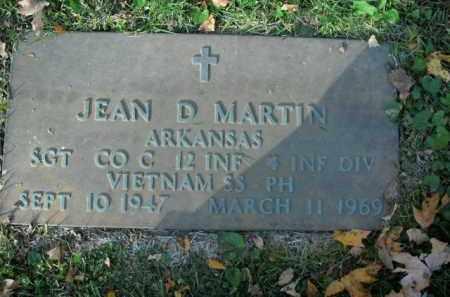 MARTIN  (VETERAN VIET), JEAN D - Boone County, Arkansas | JEAN D MARTIN  (VETERAN VIET) - Arkansas Gravestone Photos