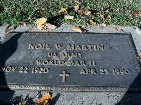 MARTIN  (VETERAN WWII), NOIL W - Boone County, Arkansas | NOIL W MARTIN  (VETERAN WWII) - Arkansas Gravestone Photos