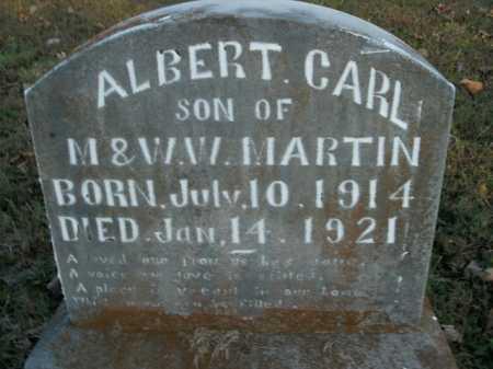 MARTIN, ALBERT CARL - Boone County, Arkansas | ALBERT CARL MARTIN - Arkansas Gravestone Photos