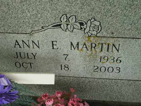 MARTIN, ANN E. - Boone County, Arkansas | ANN E. MARTIN - Arkansas Gravestone Photos