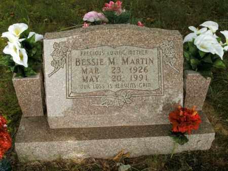 DABBS MARTIN, BESSIE M. - Boone County, Arkansas | BESSIE M. DABBS MARTIN - Arkansas Gravestone Photos