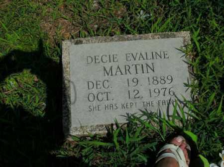 MARTIN, DECIE EVALINE - Boone County, Arkansas | DECIE EVALINE MARTIN - Arkansas Gravestone Photos