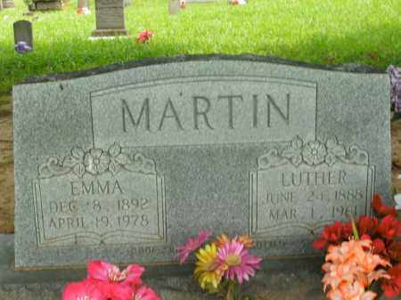 MARTIN, LUTHER - Boone County, Arkansas | LUTHER MARTIN - Arkansas Gravestone Photos
