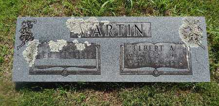 MARTIN, ELBERT A. - Boone County, Arkansas | ELBERT A. MARTIN - Arkansas Gravestone Photos