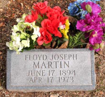 MARTIN, FLOYD JOSEPH - Boone County, Arkansas | FLOYD JOSEPH MARTIN - Arkansas Gravestone Photos