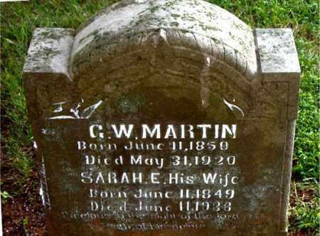 MARTIN, SARAH E. - Boone County, Arkansas | SARAH E. MARTIN - Arkansas Gravestone Photos