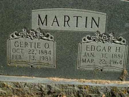 MARTIN, GERTIE O. - Boone County, Arkansas | GERTIE O. MARTIN - Arkansas Gravestone Photos