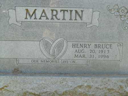 MARTIN, HENRY BRUCE - Boone County, Arkansas | HENRY BRUCE MARTIN - Arkansas Gravestone Photos