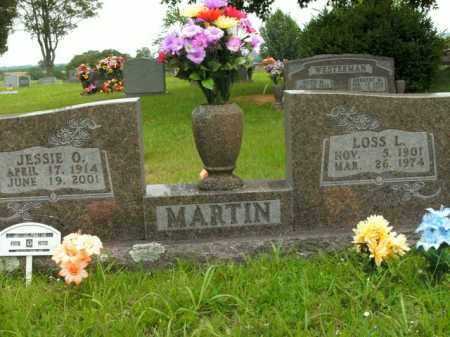 MARTIN, LOSS L. - Boone County, Arkansas | LOSS L. MARTIN - Arkansas Gravestone Photos